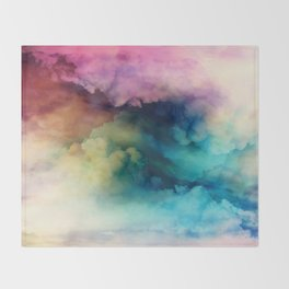 Rainbow Dreams Throw Blanket