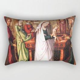 Presentation of Jesus at the Temple Rectangular Pillow