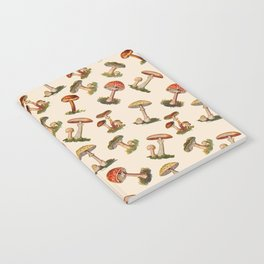 Magical Mushrooms Notebook