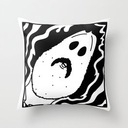 Space and Time: The Dude Throw Pillow