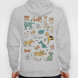 Dogs Dogs Dogs Hoodie