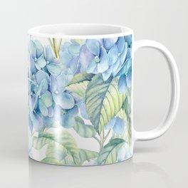 Blue Hydrangea Kaffeebecher