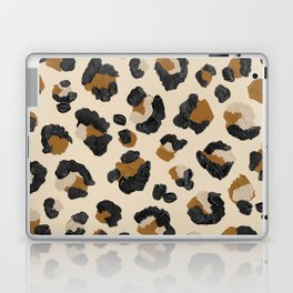 Leopard Print – Neutral Gold Light Palette Laptop & iPad Skin