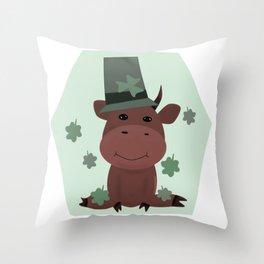 St Patrick  Throw Pillow