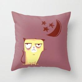 Cannot Sleep V2 Throw Pillow