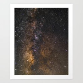 Deep Milky Way Core Art Print