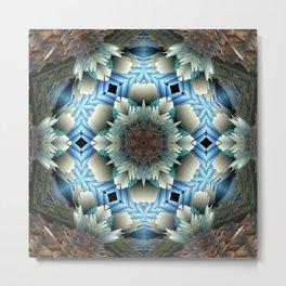 ethnic exotic pattern Metal Print