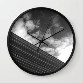 Metallic Stream  Wall Clock