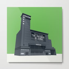 ODEON Leicester Square Metal Print