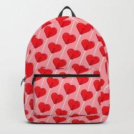 Heart Lollipop - Pink Backpack