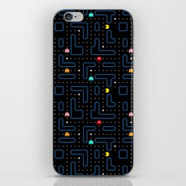 Pac-Man Retro Arcade Video Game Pattern Design iPhone Skin