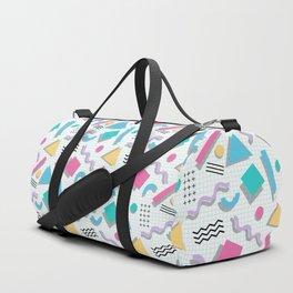 Memphis Shapes Duffle Bag