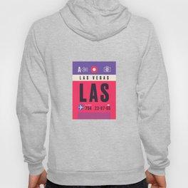Baggage Tag A - LAS Las Vegas USA Hoody