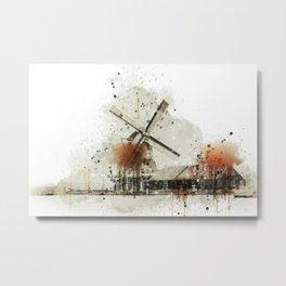 Architecture Building Dutch Metal Print