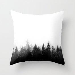 Scandinavian Forest Throw Pillow