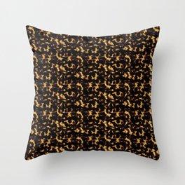 Light Tortoiseshell Throw Pillow