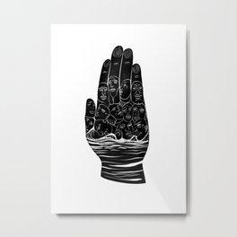 Palmist Metal Print