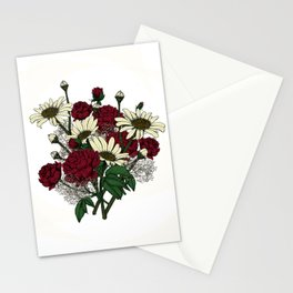 """Flower Arrangement Fall in Love Series """" Lover favourite"""" Stationery Cards"""
