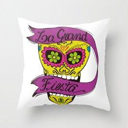 La Grand Fiesta Throw Pillow