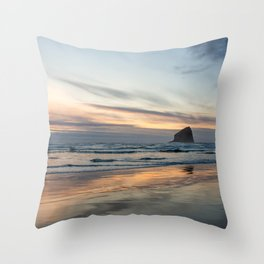 Pacific Glow Throw Pillow