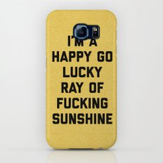 Ray Of Sunshine Funny Quote Galaxy S8 Slim Case