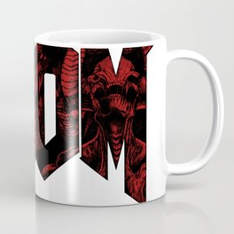 DOOM (Red version) Kaffeebecher