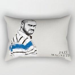 Kase.O Jazz Magnetism Rectangular Pillow