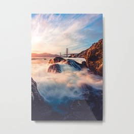 Golden Gate Bridge I Metal Print