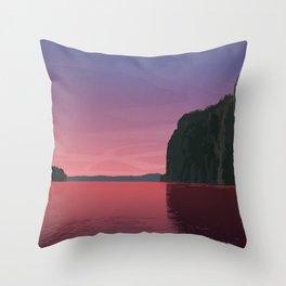 Bon Echo Provincial Park Throw Pillow