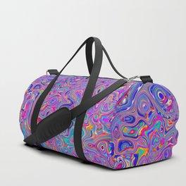Neon melt Duffle Bag