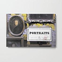 Harry Potter's portraits Metal Print