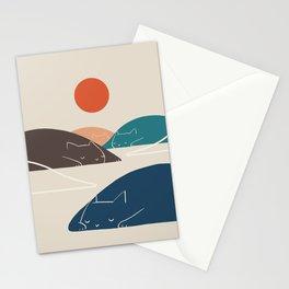 Cat Landscape 1 Stationery Cards