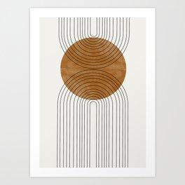 Abstract Flow Art Print