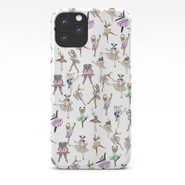 Animal Ballerinas iPhone Case