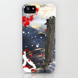 Exploding matchsticks   iPhone Case