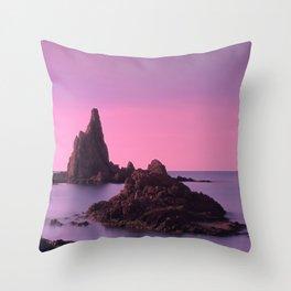 Arrecife de las Sirenas Throw Pillow