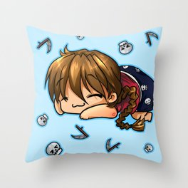 Sleepytime Duo  Throw Pillow