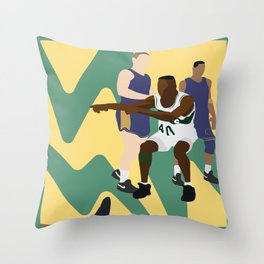 Lister Blister Throw Pillow