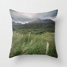 The Torridon Mountains Throw Pillow
