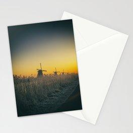 Sunrise at Kinderdijk III Stationery Cards