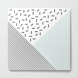 Aguamarina Metal Print