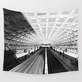 Commute Wall Tapestry