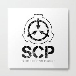 SCP Secure Metal Print