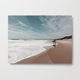 Out of the Waves Metal Print