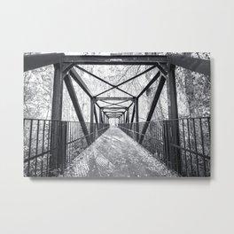 Farmington Bridge Metal Print