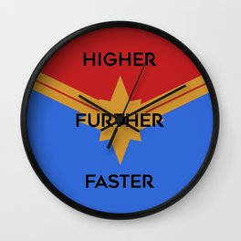 Higher, Further, Faster Wall Clock