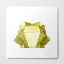 Geo Series - Frog Metal Print