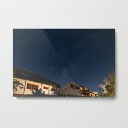 Stars over Tofo Metal Print