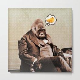 Gorilla My Dreams Metal Print