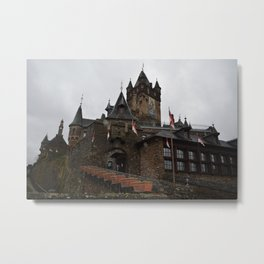 German Castle Metal Print